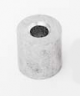 Скоби алуминиеви, кръгли, за лифтово въже 3мм.