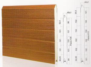 "Панел ""PINCHPROOF"" гладък Златен дъб / 500 мм. Х 6100 мм. Х 40мм."