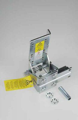 Ролкодържачи долни, обезопасяващи срещу скъсване на лифтови въжета, регулируем, коплект, за врата до 750кг.