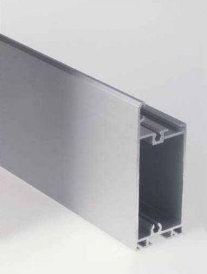 Странични алуминиеви профили, ЕДИНИЧНИ, за панел 40мм. х 610мм.