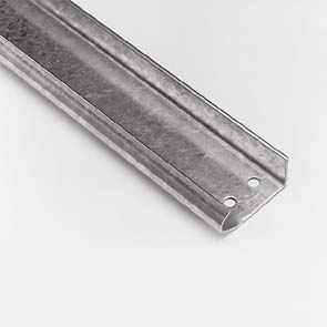 Релси вертикални, галванизирани, 2.0мм., L=4250мм.