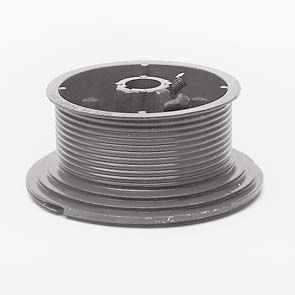 """Ролки за лифтово въже, HL max. 1370мм., H=4800мм., за тръба 1"""", max. 500кг."""