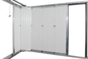 Комплект хардуер (без панел) за странично-плъзгаща се врата с размери 5000 х 2500мм. / ЛЯВ
