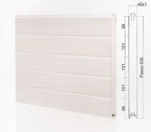 "Панел ""MONOWALL"" гладък Бял / 500 мм. Х 6100 мм. Х 40мм."